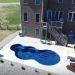 fiberglass pools images
