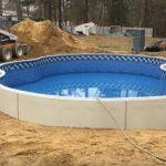 average inground pool