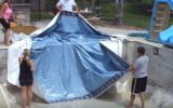 pool liners and coping strips