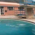 swimming pool round above ground