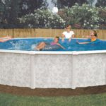 24 foot above ground pool liner