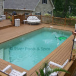 above ground fiberglass pools