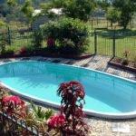 below ground pool