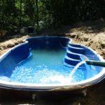 fiberglass lap pools