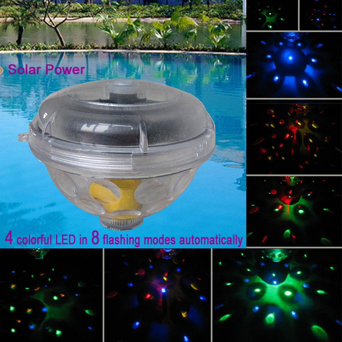 floating led pool lights – Pools ideas