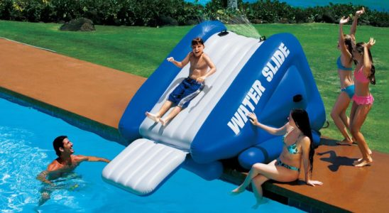 Inflatable Inground Pool Slide inground – pools ideas