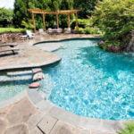 installing inground pool