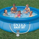 intex above ground swimming pools
