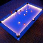 outside pool lights