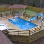 over ground pool