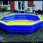 plastic pool slide