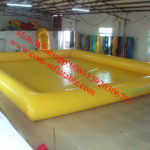 plastic swimming pool with slide
