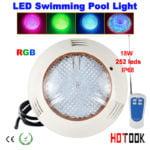 pool led lights underwater