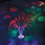 pool lights underwater