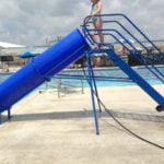 portable pool slide