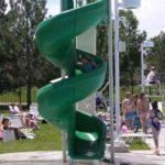 slide for above ground pool