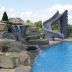 slide for pool inground