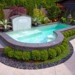 small inground pool