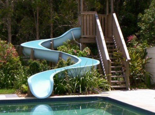 swimming pool slides for sale