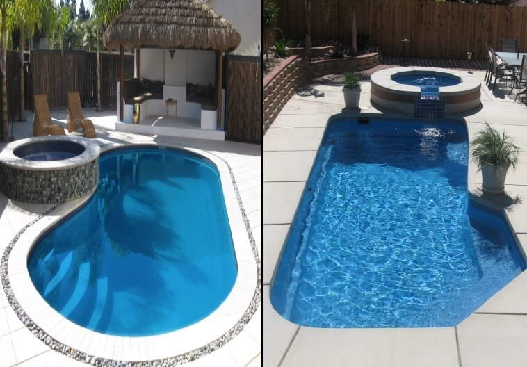 Fiberglass vs сoncrete inground pools