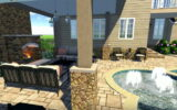 rules of pool landscaping