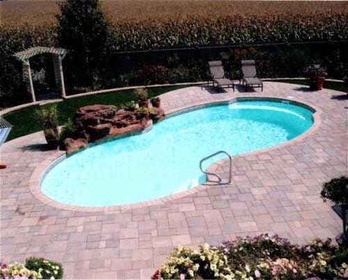 fiberglass inground pools in Oklahoma