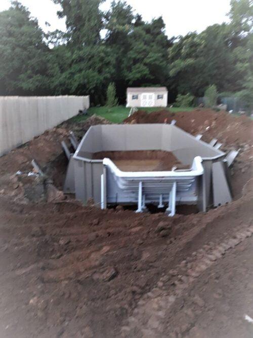 semi inground pools in Pennsylvania