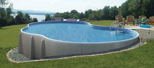 semi inground pools New Jersey