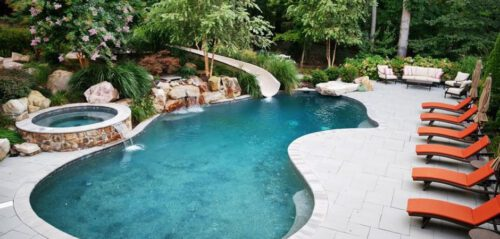 small inground pools in maryland
