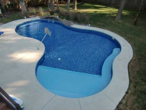 small inground pools in Oklahoma