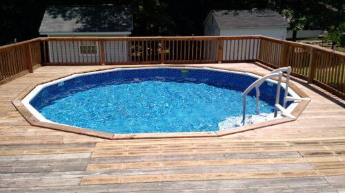diy inground pool heater