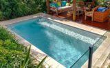 fiberglass lap pools cost