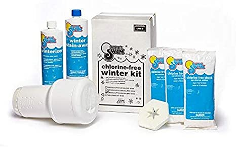 pool chemicals winterizing kit