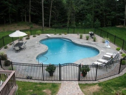 pool fences for inground pools in massachusetts