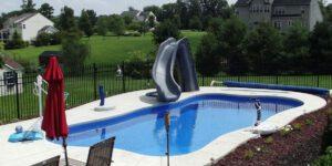 pool slides cost