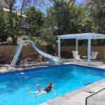 pool slides gold coast