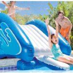 pool slides inflatable
