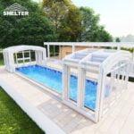 inground pool enclosures retractable
