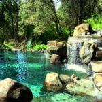 natural pool designs waterfalls
